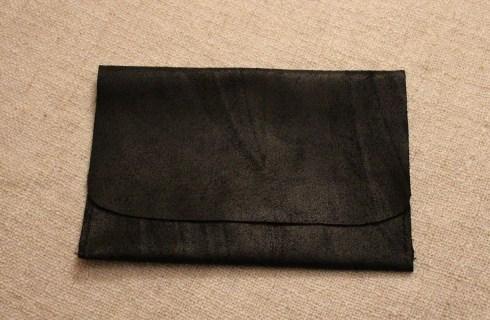 Pochette en cuir pour ipad mini