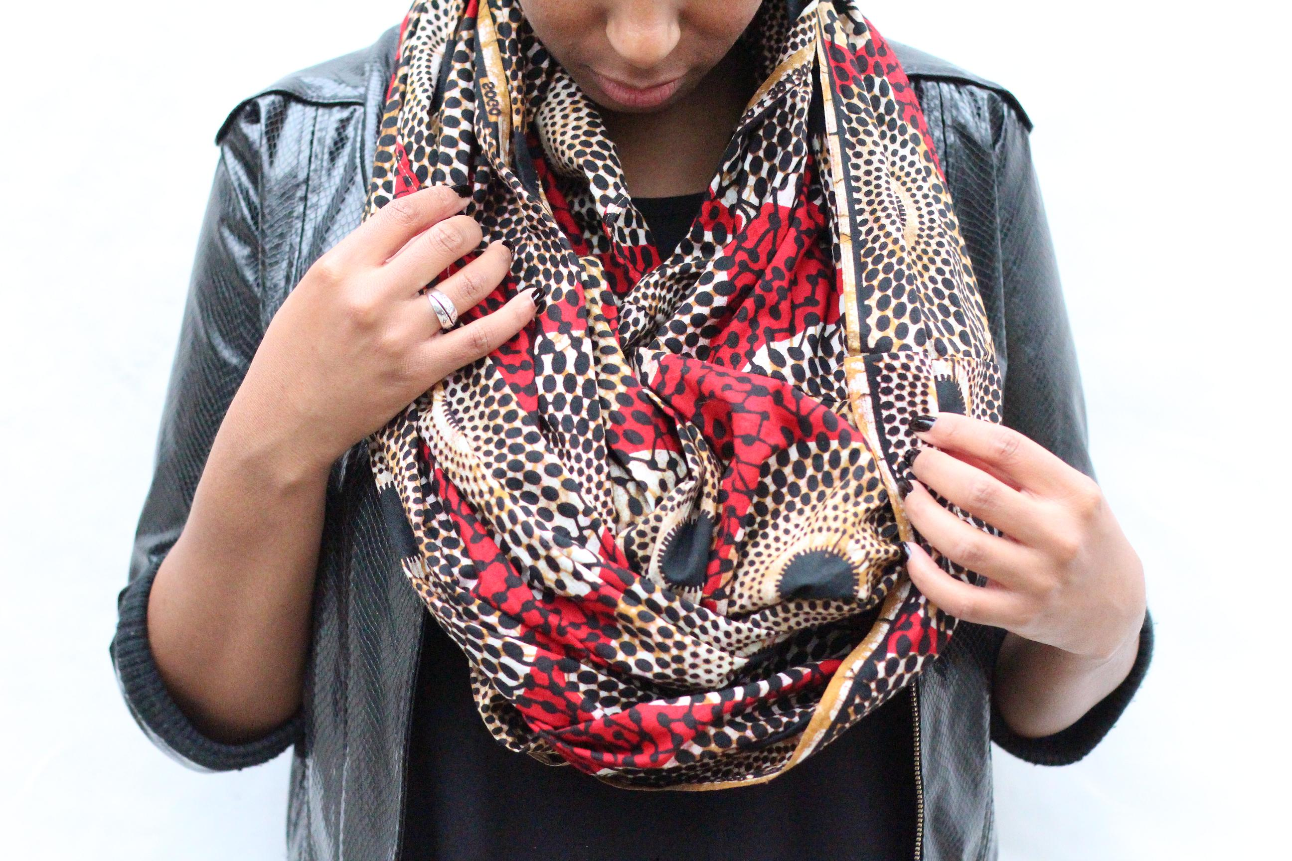 diy le snood infinity scarf lapetitemaisoncouture. Black Bedroom Furniture Sets. Home Design Ideas