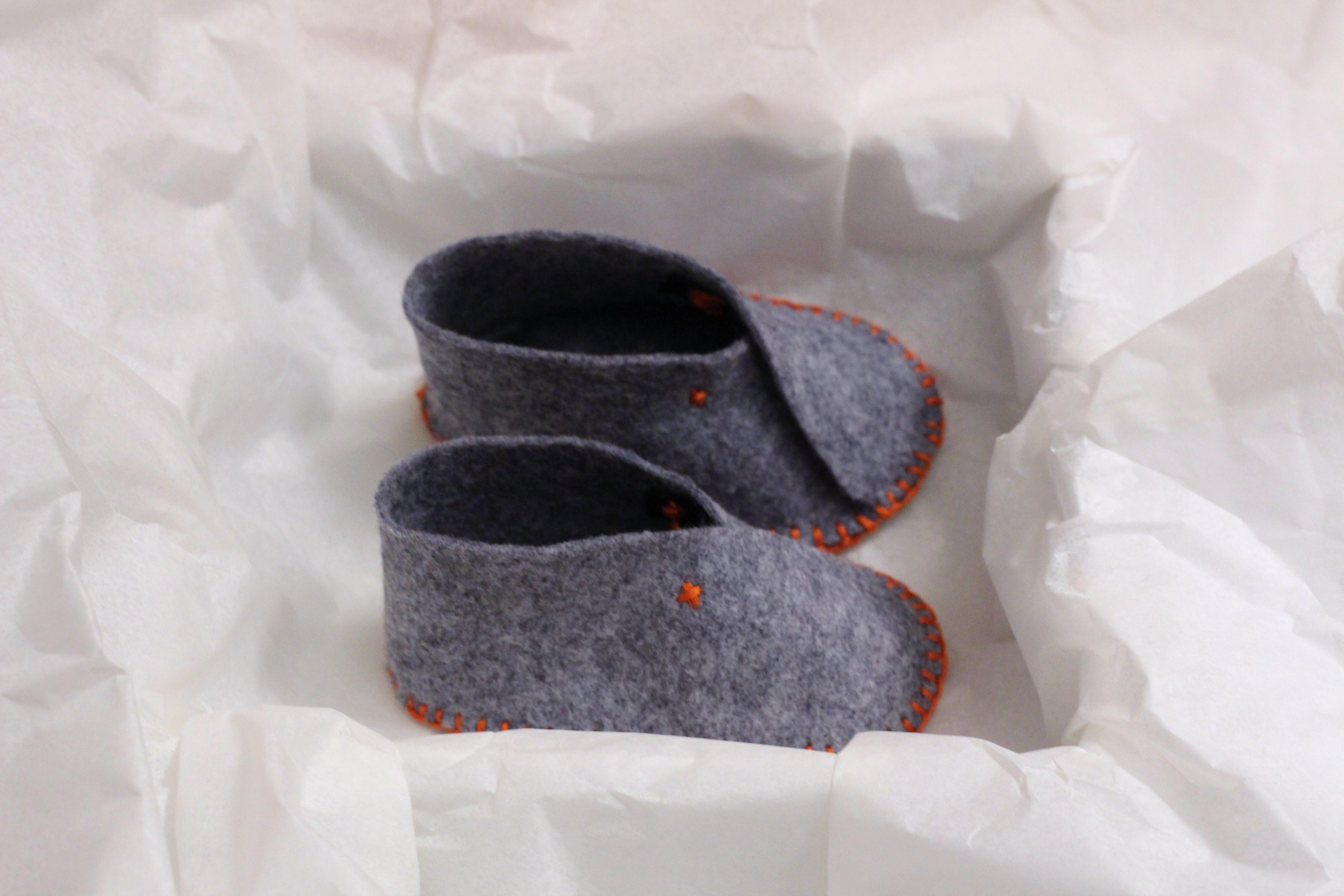 diy chaussons baby 2 5 series de no l lapetitemaisoncouture. Black Bedroom Furniture Sets. Home Design Ideas