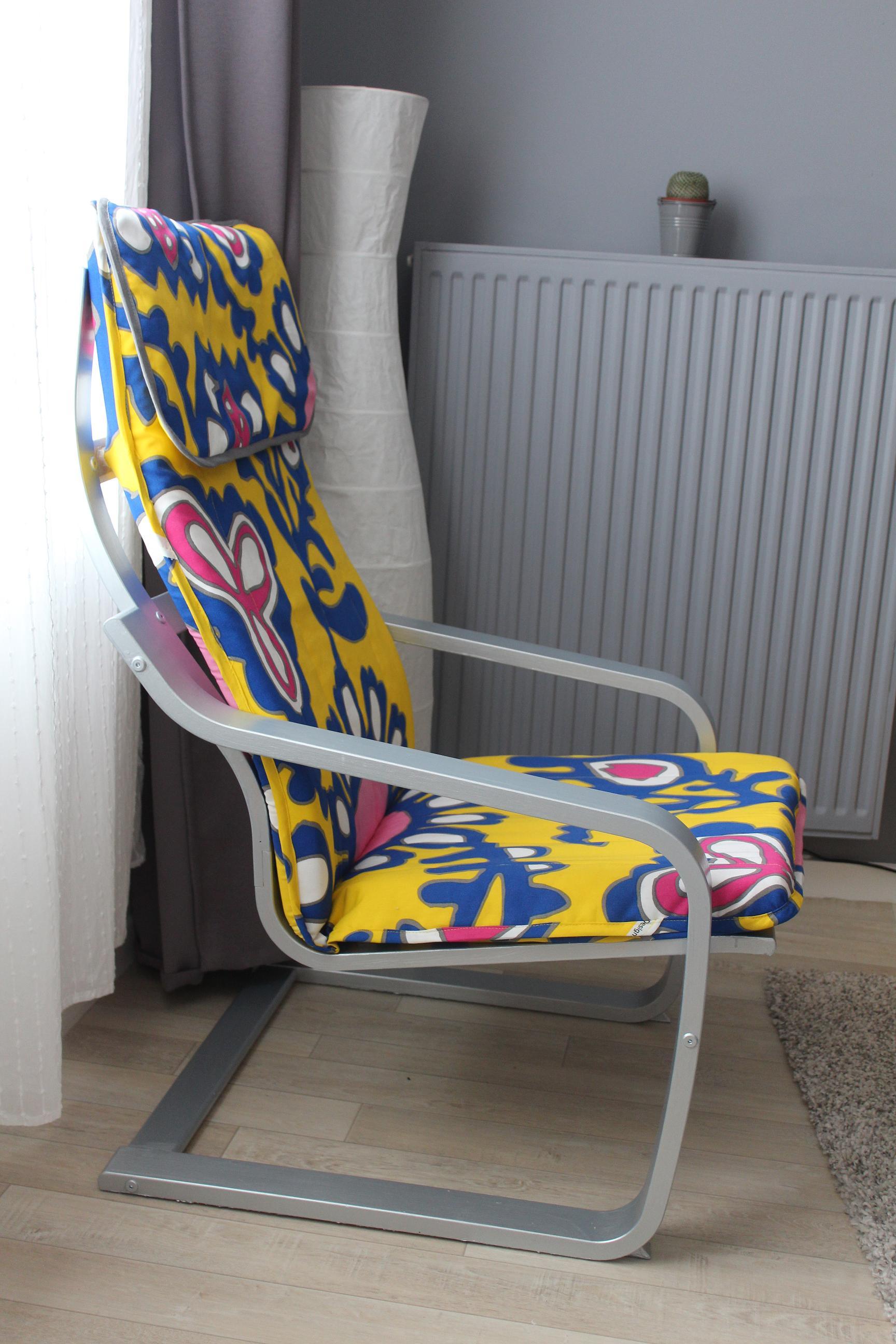 Comment Faire Une Housse De Fauteuil ikea hacking -fauteuil poäng | lapetitemaisoncouture